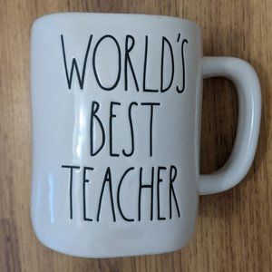 Rae Dunn World's Best Teacher Mug